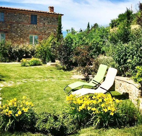 GIARDINO VILLA PRIVATA - Toscana