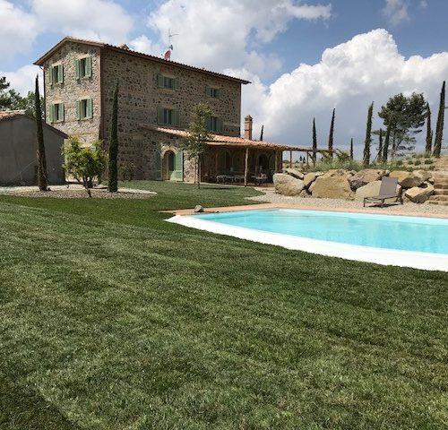GIARDINO VILLA PRIVATA - Val d'Orcia